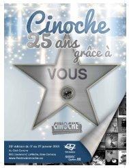 Programme Cinoche 2013 - Festival du film international de Baie ...