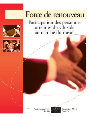 Force de renouveau.pdf - Canadian AIDS Society