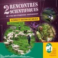elevage et gestion des milieux - Parc naturel régional des Pyrénées ...
