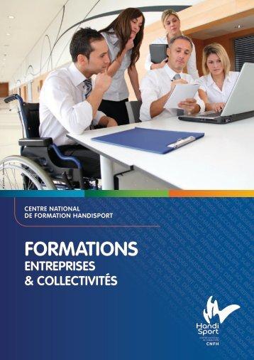Présentation des formations professionnelles sur le handicap
