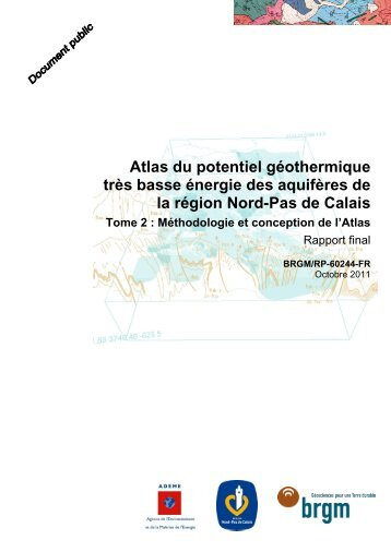 BRGM/RP-60244-FR – Tome 2 - Géothermie Perspectives