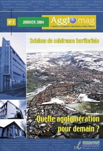 agglo mag 1 - Communauté d'Agglomération du Bassin d'Aurillac