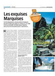 Migros Magazine: «Les exquises Marquises - Travelhouse