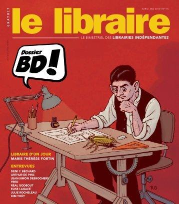 ENTREVUES - Le libraire