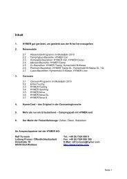 Inhalt - Hymer AG
