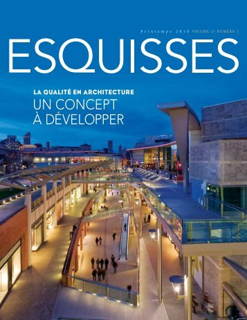 Esquisses | Vol. 21, No. 1 - Lemay & associés