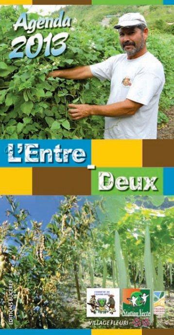 Entre-Deux 2013 - redac - Les Agendas des Mairies