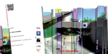 plaquette 2012 2013 - Mjc des carrés