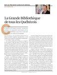 La Grande BiBLiothèque - BAnQ - Page 3