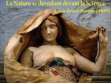 La Nature se dévoilant devant la Science