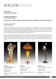 Art Deco – Design - Koller Auktionen