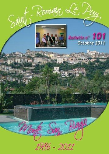 Bulletin n° 101 Octobre 2011 - Réseau des Communes