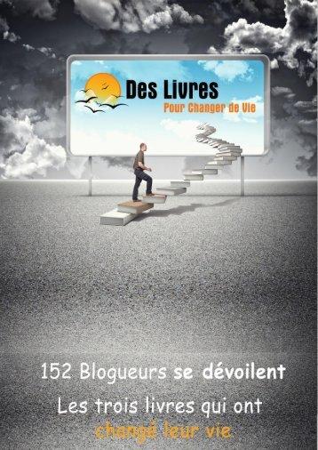 152 Blogueurs se dévoilent – Les 3 livres qui - Le coin des voyageurs