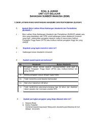 further information - Portal Rasmi Bahagian Sumber Manusia UPSI