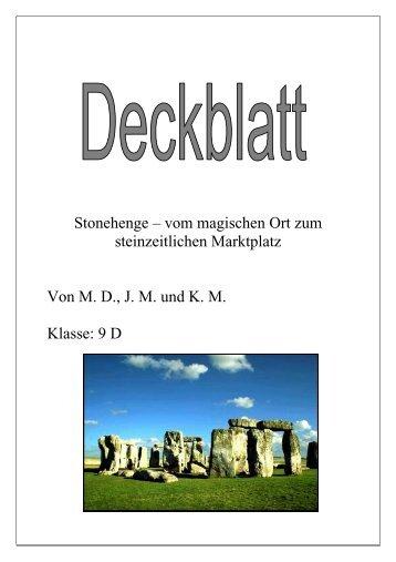Steinzeitlichen Magazine
