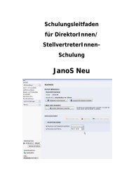 JaNoS NEU Handbuch