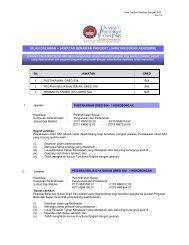 iklan dalaman – jawatan kenaikan pangkat (jawatan bukan akademik)