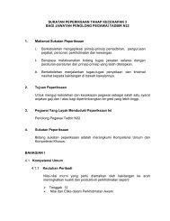 Penolong Pegawai Tadbir N32 TK3 - Portal Rasmi Bahagian ...