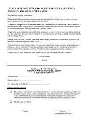 izjava o privolitvi k dajanju tablet kalijevega jodida v šolah in internatih