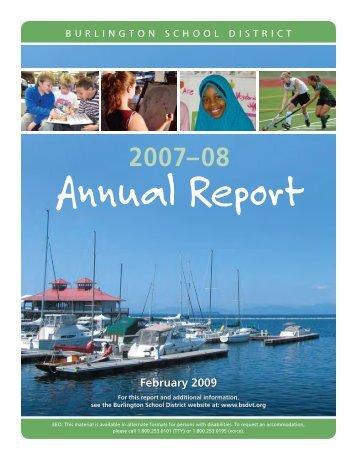 February 2009 - Burlington School District