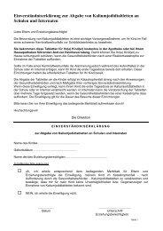 Einverständniserklärung zur Abgabe von Kaliumjodidtabletten an ...