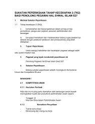 Penolong Pegawai Hal Ehwal Islam S27 TK2