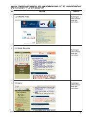 Manual Pengguna staf UPSI- Mengumpul GCR dan Membawa