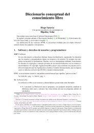 Diccionario del Conocimiento Libre - Universidad Nacional de Salta