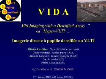 Recombinateur densifieur VIDA