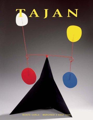Art moderne et contemporain - La sculpture au 20e siècle - Tajan