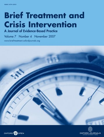 Begin manual download - Brief Treatment and Crisis Intervention