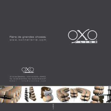 Plaquette Oxoline - Tonnellerie Baron