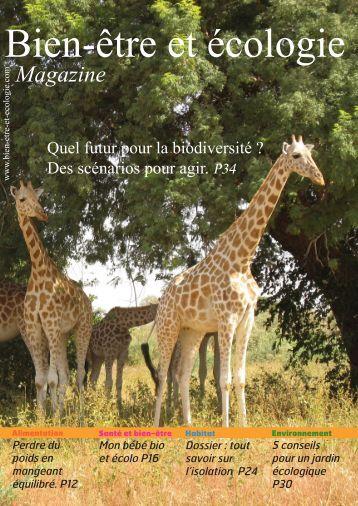 Magazine - Bien-être et écologie