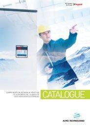 CATALOGUE - Alpes Technologies