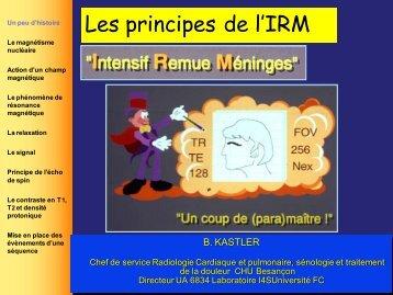 Les principes de l'IRM