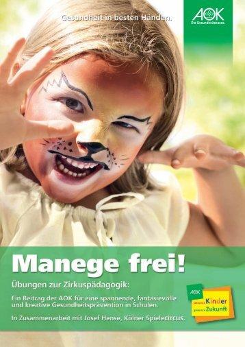"""""""Zirkus zum Selbermachen"""". Eine Handreichung für Lehrer (pdf - AOK"""
