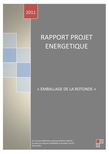 Télécharger le rapport projet énergétique, Michaël Nafack et ...