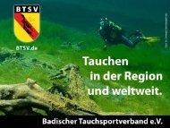 Neues aus der Ausbildung - Badischer Tauchsportverband eV
