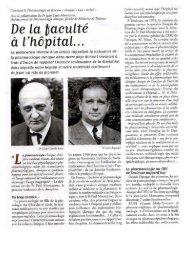 De la Faculté à l 'Hôpital - CHU Toulouse