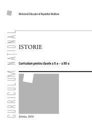 Istorie_Romana - Ministerul Educatiei al Republicii Moldova