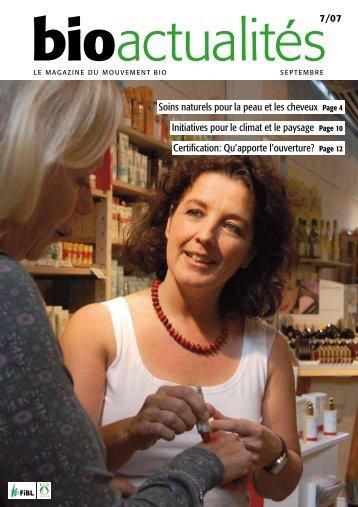 Soins naturels pour la peau et les cheveux Page 4 ... - Bioactualites.ch