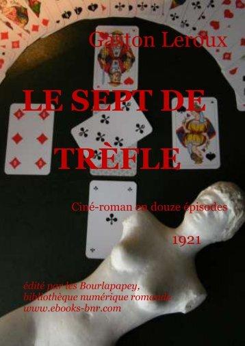 LE SEPT DE TRÈFLE - Bibliothèque numérique romande