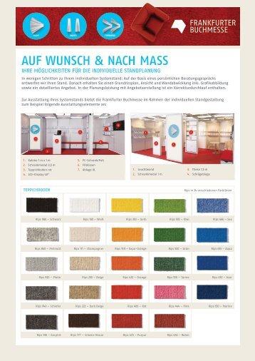 Auf Wunsch & nach Maß - Frankfurter Buchmesse