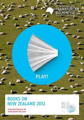 Books on new Zealand 2012 - Frankfurter Buchmesse