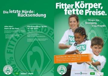 Rücksendung - Werder Bremen