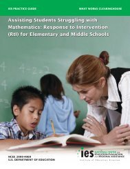 Assisting Students Struggling with Mathematics ... - Building RTI