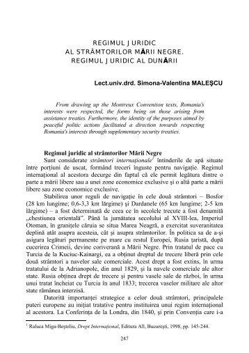 Lect.univ.drd. Simona-Valentina MALEŞCU