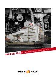 Télécharger le programme de la saison 2012 - 2013 à l'Espace JOB