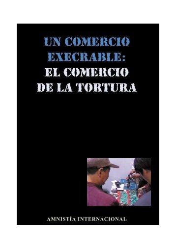 el comercio de la tortura - Cátedra Unesco de Derechos Humanos