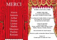theatre flyer 2012 (Lecture seule)
